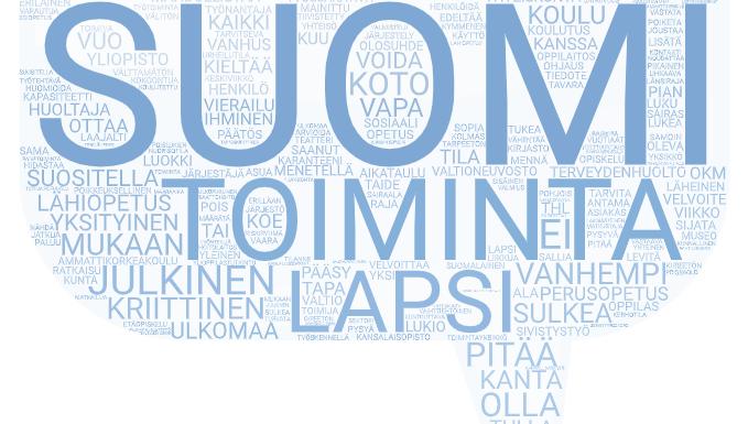 Sanapilvet suomen kielellä oikein